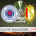 Rangers Standard Liegi cronaca diretta live risultato in tempo reale