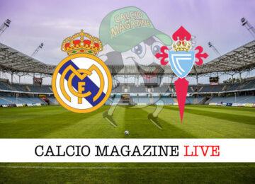 Real Madrid Celta Vigo cronaca diretta live risultato in tempo reale