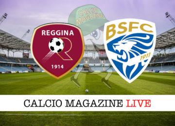 Reggina Brescia cronaca diretta live risultato in tempo reale