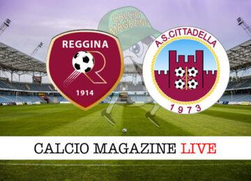 Reggina Cittadella cronaca diretta live risultato in tempo reale