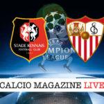 Rennes Siviglia cronaca diretta live risultato in tempo reale