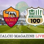 Roma Sassuolo cronaca diretta live risultato in tempo reale