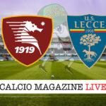 Salernitana Lecce cronaca diretta live risultato in tempo reale