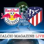 Salisburgo Atletico Madrid cronaca diretta live risultato in tempo reale