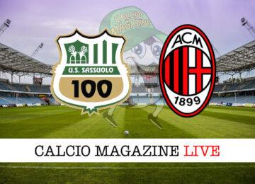 Sassuolo Milan cronaca diretta live risultato in tempo reale