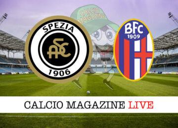 Spezia Bologna cronaca diretta live risultato in tempo reale