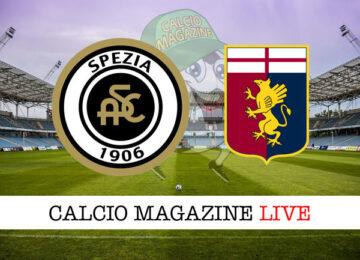 Spezia Genoa cronaca diretta live risultato in tempo reale