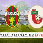 Ternana Turris cronaca diretta live risultato in tempo reale