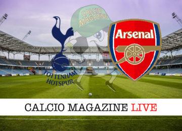 Tottenham Arsenal cronaca diretta live risultato in tempo reale