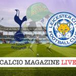 Tottenham Leicester cronaca diretta live risultato in tempo reale