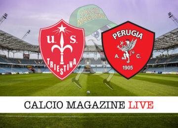 Triestina Perugia cronaca diretta live risultato in tempo reale