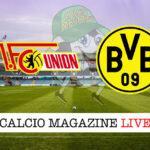 Union Berlino Borussia Dortmund cronaca diretta live risultato in tempo reale