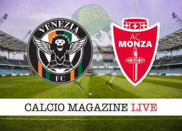 Venezia Monza cronaca diretta live risultato in tempo reale