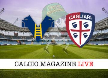 Verona Cagliari cronaca diretta live risultato in tempo reale