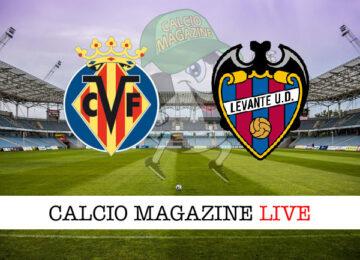 Villarreal Levante cronaca diretta live risultato in tempo reale