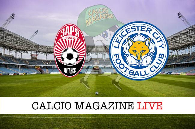 Zorya Leicester cronaca diretta live risultato in tempo reale