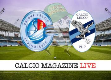 Albinoleffe Lecco cronaca diretta live risultato in tempo reale