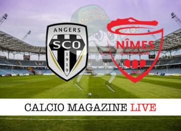 Angers Nimes Olympique cronaca diretta live risultato in tempo reale