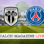 Angers PSG cronaca diretta live risultato in tempo reale