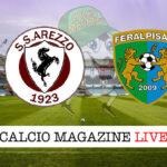 Arezzo FeralpiSalò cronaca diretta live risultato in tempo reale