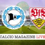 Arminia Bielefeld Stoccarda cronaca diretta live risultato in tempo reale
