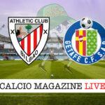 Athletic Bilbao Getafe cronaca diretta live risultato in tempo reale