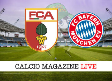 Augusta Bayern Monaco cronaca diretta live risultato in tempo reale
