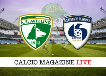 Avellino Cavese cronaca diretta live risultato in tempo reale