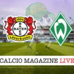 Bayer Leverkusen Werder Brema cronaca diretta live risultato in tempo reale