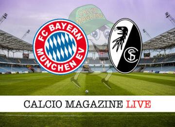 Bayern Monaco Friburgo cronaca diretta live risultato in tempo reale