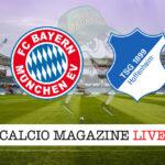 Bayern Monaco Hoffenheim cronaca diretta live risultato in tempo reale