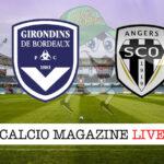 Bordeaux Angers cronaca diretta live risultato in tempo reale