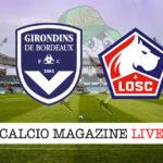 Bordeaux Lille cronaca diretta live risultato in tempo reale