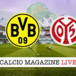 Borussia Dortmund Magonza cronaca diretta live risultato in tempo reale