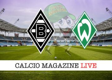 Borussia Monchengladbach Werder Brema cronaca diretta live risultato in tempo reale