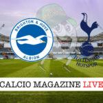 Brighton Tottenham cronaca diretta live risultato in tempo reale