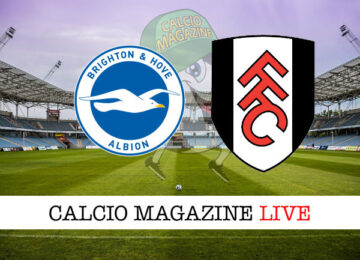 Brington Fulham cronaca diretta live risultato in tempo reale