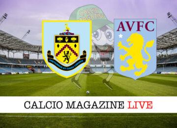 Burnley Aston Villa cronaca diretta live risultato in tempo reale