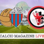 Catania Foggia cronaca diretta live risultato in tempo reale