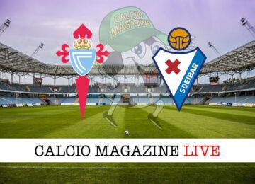 Celta Vigo Eibar cronaca diretta live risultato in tempo reale