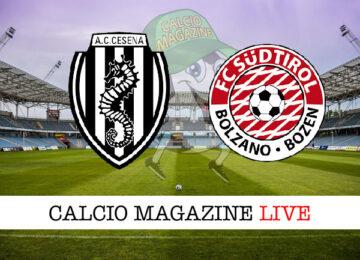 Cesena Sudtirol cronaca diretta live risultato in tempo reale