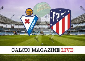 Eibar Atletico Madrid cronaca diretta live risultato in tempo reale