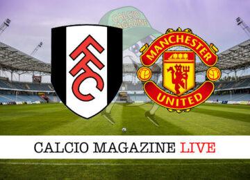 Fulham Manchester United cronaca diretta live risultato in tempo reale