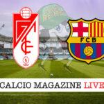 Granada Barcellona cronaca diretta live risultato in tempo reale