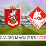 Grosseto Piacenza cronaca diretta live risultato in tempo reale