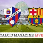 Huesca Barcellona cronaca diretta live risultato in tempo reale