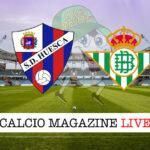 Huesca Real Betis cronaca diretta live risultato in tempo reale