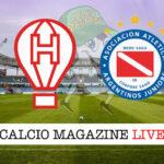 Huracan Argentinos cronaca diretta live risultato in tempo reale