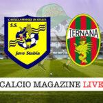 Juve Stabia Ternana cronaca diretta live risultato in tempo reale