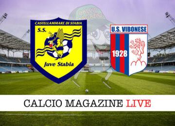Juve Stabia Vibonese cronaca diretta live risultato in tempo reale